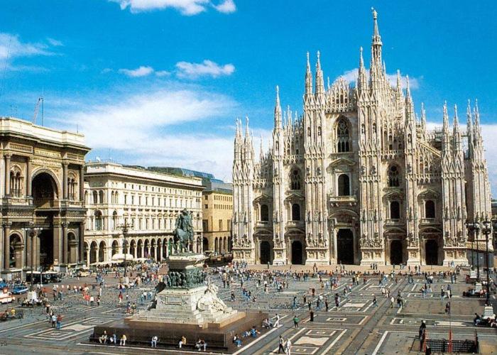 Visión de la ciudad de Milán