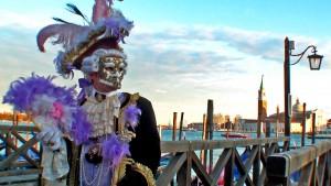 Los rostros del Carnaval de Venecia.