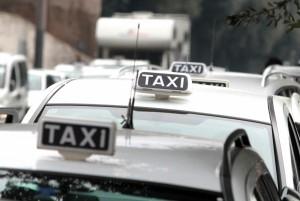 Taxis en Roma.