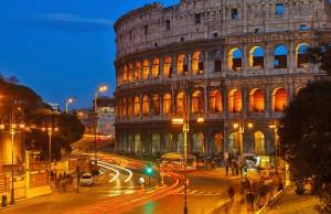 Noches en Roma.