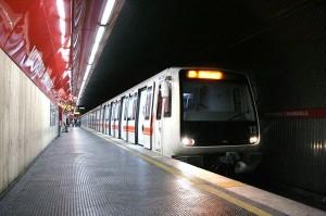 Línea A de metro de Roma