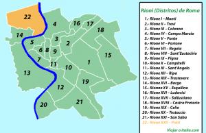 Rione XXII – Prati