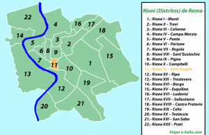 Rione XI – Sant'Angelo