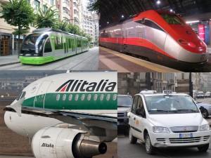 Transporte en italia