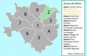 Zona 2 de Milán