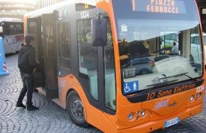Autobuses en Florencia