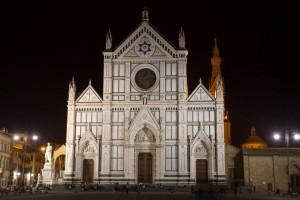 Basílica de Santa Cruz en Florencia Italia