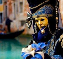 Carnavales en Venecia, Italia