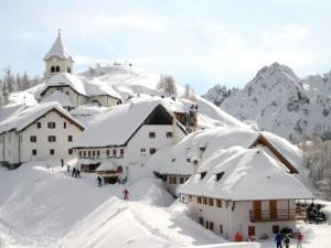 En Italia suele nevar durante el invierno.