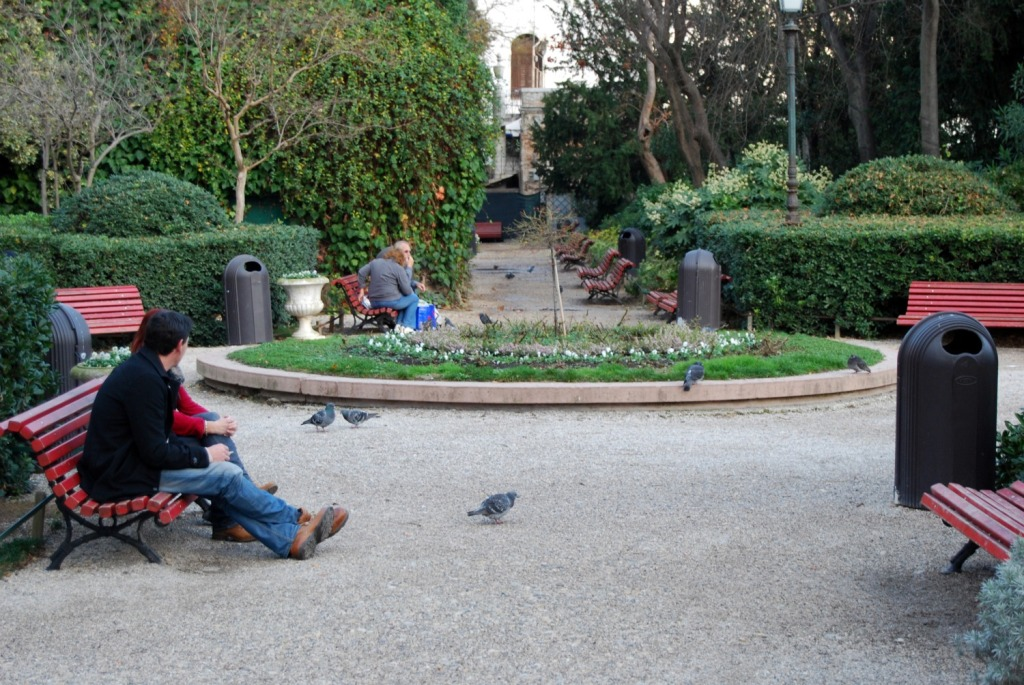 jardines reales viajar a italia