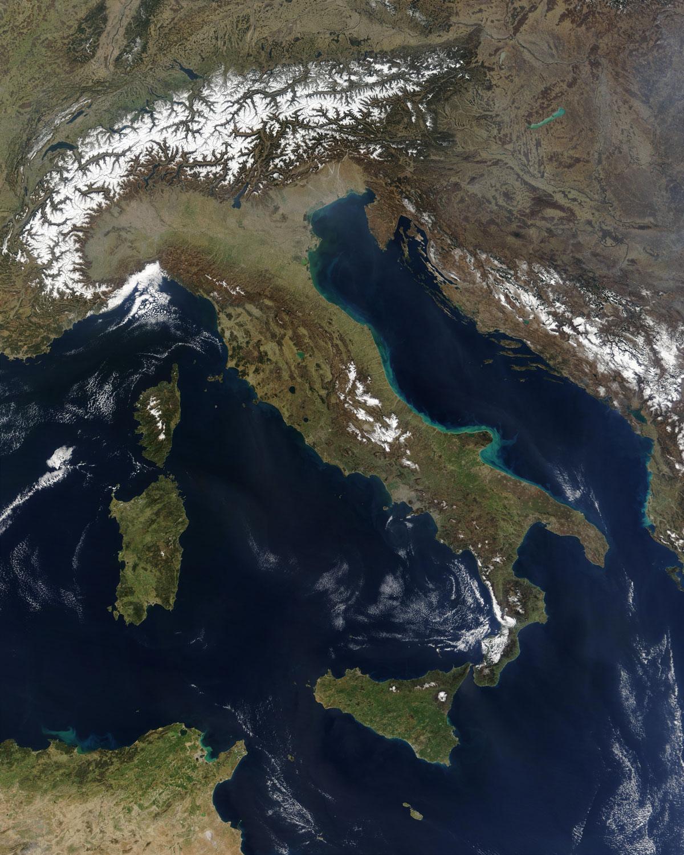 Mapa de italia viajar a italia for Be italia