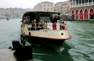 Vaporetti en Venecia