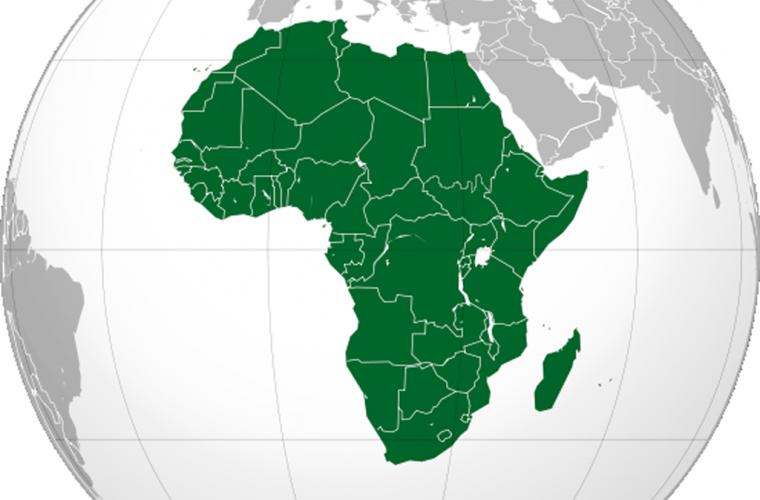 Ubicación de África