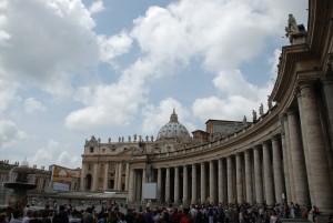 Vista de Ciudad del Vaticano (Roma)