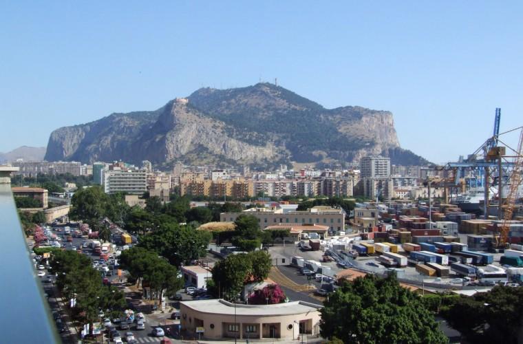 Vista de la ciudad de Palermo