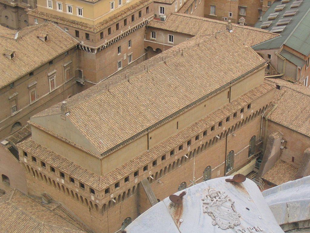 Capilla sixtina viajar a italia for Exterieur chapelle sixtine