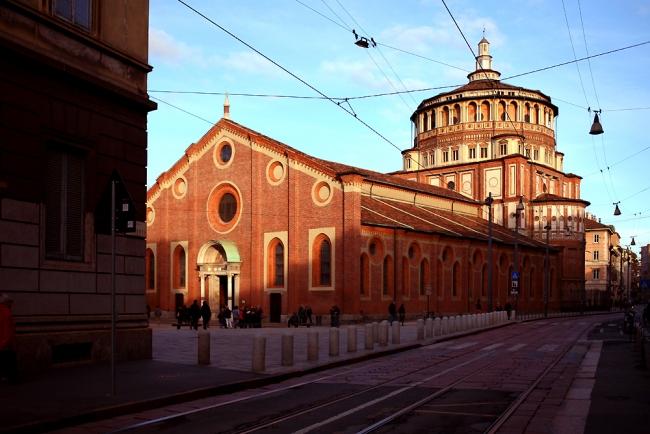 Iglesia y convento dominico de Santa María delle Grazie