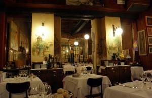 Restaurante Bagutta en Milán