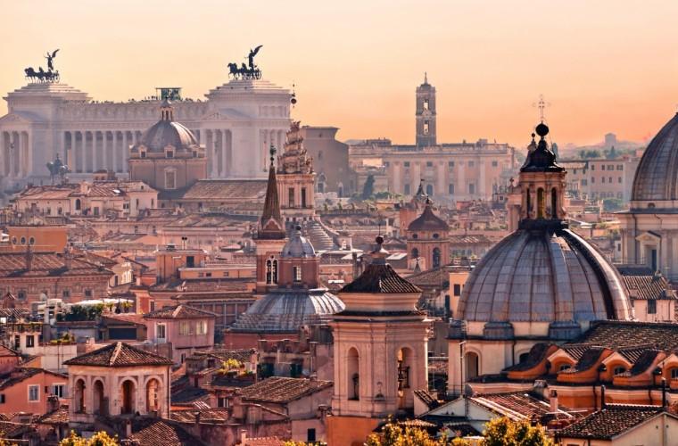 Roma en primavera.