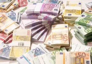 El euro es la moneda oficial de la mayoría de países de Europa.