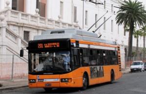 Autobus de la Línea 201 de Napoles