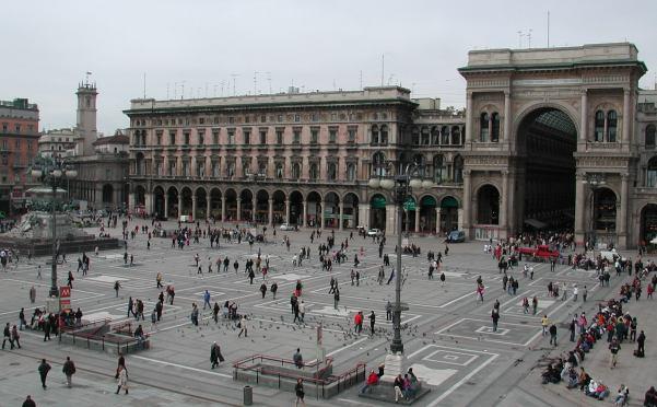 Plaza del Duomo - Milán
