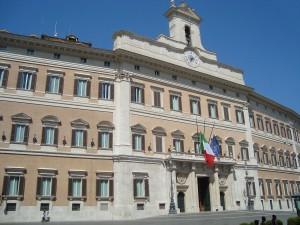 Palazzo Montecitorio, Sede de la Cámara de Diputados. 19 de agosto de 2010