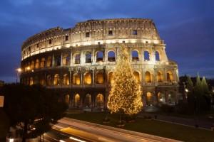 Navidad en Roma.