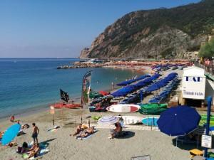Diversión en las playas de Italia.