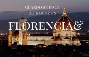 Cuando se hace de noche en Florencia