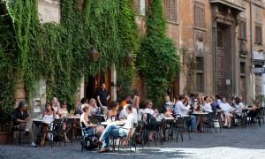 Antico Caffé della Place en Roma.