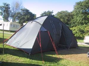 Camping, opción ideal para los amantes del campo.