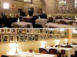 Interiores de Ai-Pappagallo en Bolonia