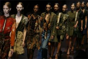 La semana de la Moda en Milán-Mujeres