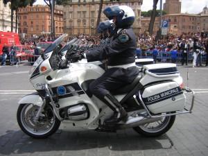 Policía local de Roma