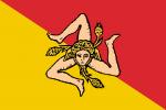Bandera de Sicilia