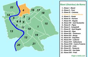 Rione IV – Campo Marzio
