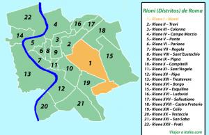 Rione I - Monti