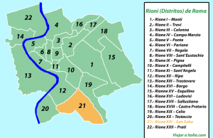 Rione XXI - San Saba