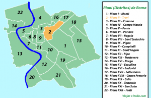 Rione II – Trevi