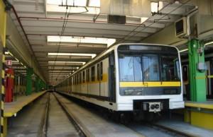 Metro en Milán