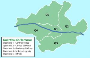 Quartieri de Florencia