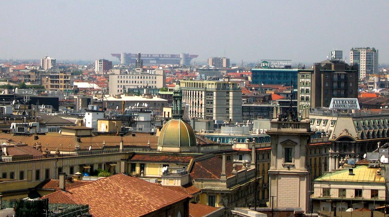 Ciudad de Milán - Viajar a Italia