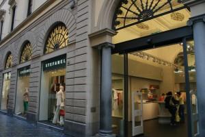 Excusivas tiendas en Florencia