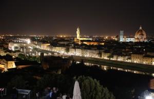 Vida nocturna en Florencia