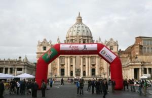 Carrera por el Día de los Santos en Roma