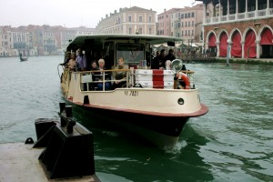 Vaporetto de Venecia