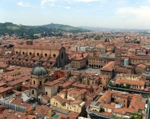 Vista de Bolonia