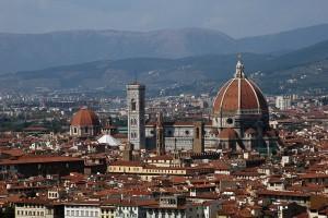 Vista de la ciudad de Florencia