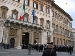Parlamento bicameral de Italia